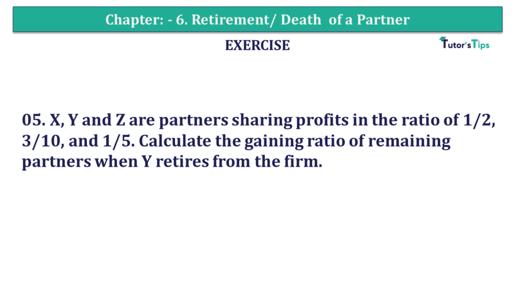 Question 05 Chapter 6of +2-A