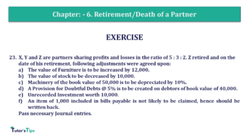 Q 23 CH 6 T.S. Grewal 2 Book 2019 Solution min 360x203 - Chapter No. 6 - Retirement/Death of a Partner - Solution - Class 12