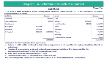 Q 33 CH 6 T.S. Grewal 2 Book 2019 Solution min 360x203 - Chapter No. 6 - Retirement/Death of a Partner - Solution - Class 12