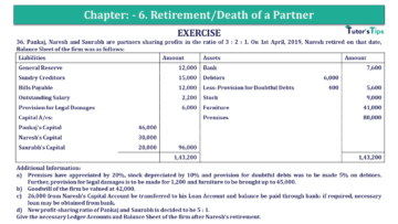 Q 36 CH 6 T.S. Grewal 2 Book 2019 Solution min 360x203 - Chapter No. 6 - Retirement/Death of a Partner - Solution - Class 12