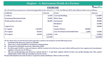 Q 46 CH 6 T.S. Grewal 2 Book 2019 Solution min 360x203 - Chapter No. 6 - Retirement/Death of a Partner - Solution - Class 12