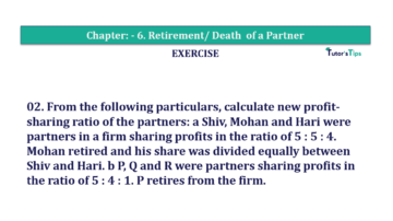 Question No.02 Chapter No.6 T.S. Grewal 2 Book 2019 Solution min min 360x202 - Chapter No. 6 - Retirement/Death of a Partner - Solution - Class 12