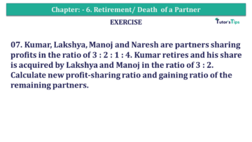 Question No.07 Chapter No.6 T.S. Grewal 2 Book 2019 Solution min min 360x203 - Chapter No. 6 - Retirement/Death of a Partner - Solution - Class 12