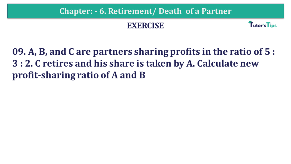 Question 09 Chapter 6 of +2-A