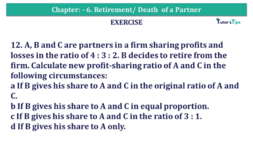Question No.12 Chapter No.6 T.S. Grewal 2 Book 2019 Solution min min 360x203 - Chapter No. 6 - Retirement/Death of a Partner - Solution - Class 12