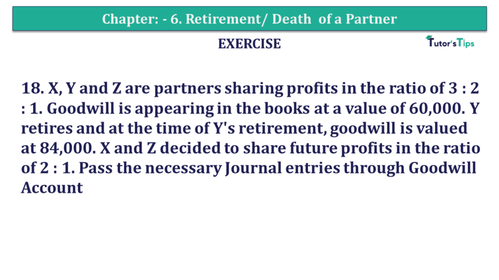 Question 18 Chapter 6of +2-A