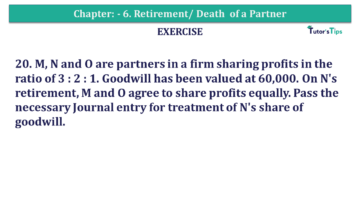 Question No.20 Chapter No.6 T.S. Grewal 2 Book 2019 Solution min min 360x203 - Chapter No. 6 - Retirement/Death of a Partner - Solution - Class 12
