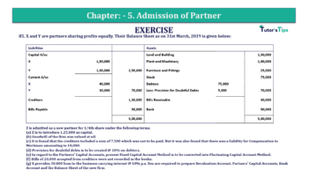 Question No.85 Chapter No.5 T.S. Grewal 2 Book 2019 Solution min min 360x202 - Chapter No. 5 - Admission of a Partner - Solution - Class 12