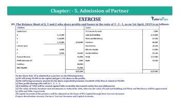 Question No.89 Chapter No.5 T.S. Grewal 2 Book 2019 Solution min min 360x202 - Chapter No. 5 - Admission of a Partner - Solution - Class 12