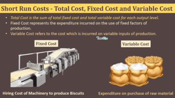 Short Run Costs Total Cost Fixed Cost and Variable Cost min 360x201 - Business Economics