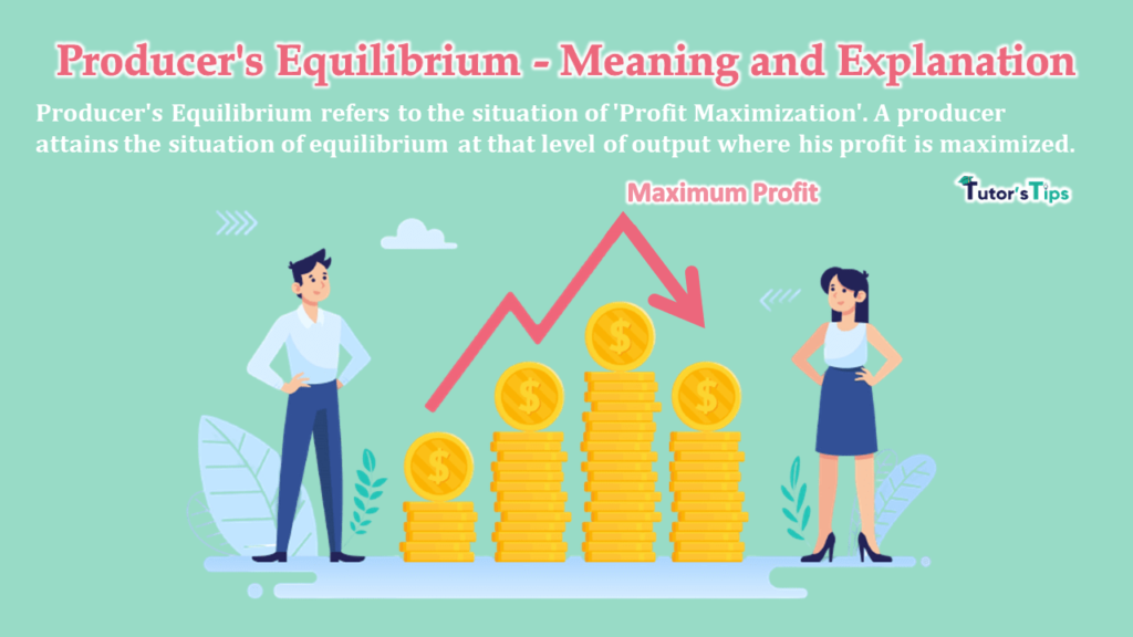 Producer's Equilibrium - Meaning and Explanation-min