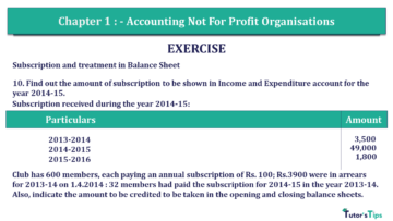 Q 10 CH 1 Usha 2 Book 2018 Solution min 360x203 - Chapter No. 1 - Accounting Not for Profit Organisations - USHA Publication Class +2 - Solution