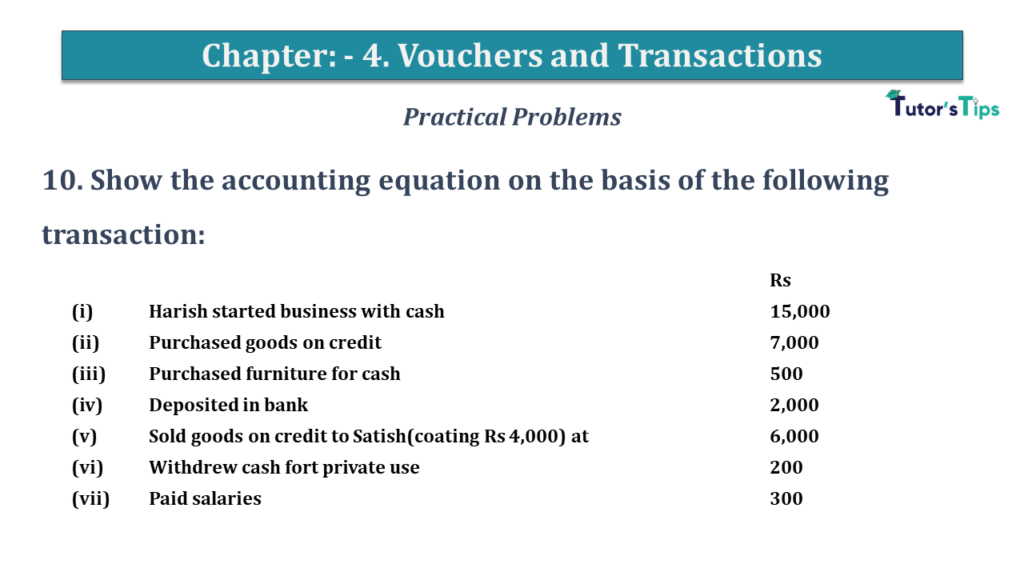 Question No 10 Chapter No 4