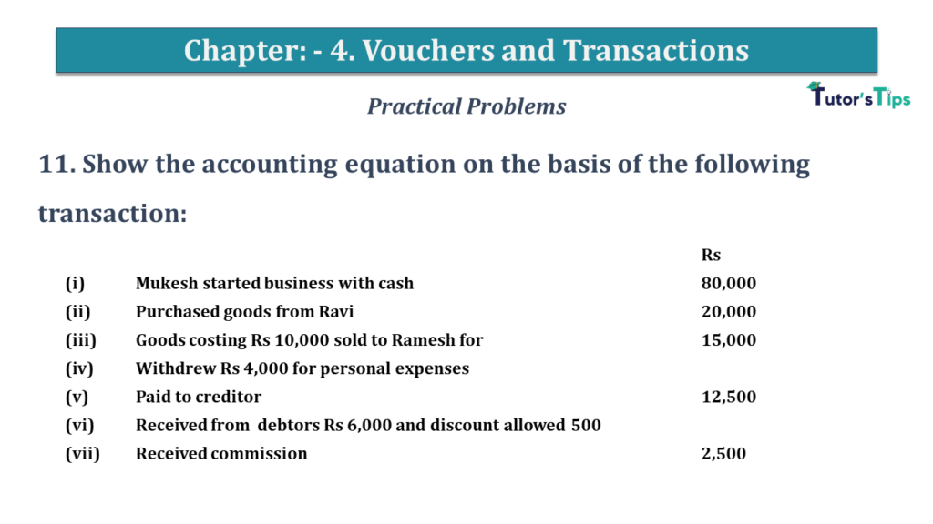 Question No 11 Chapter No 4