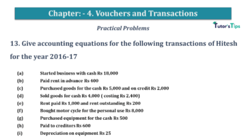 Q 13 CH 4 USHA 1 Book 2020 Solution min 360x203 - Chapter No. 3 - Vouchers and transactions - USHA Publication Class +1