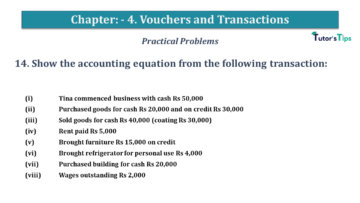 Q 14 CH 4 USHA 1 Book 2020 Solution min 360x203 - Chapter No. 3 - Vouchers and transactions - USHA Publication Class +1
