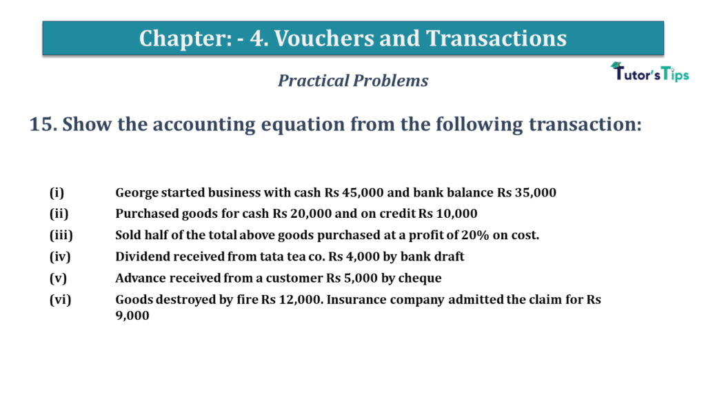 Question No 15 Chapter No 4