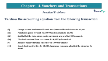 Q 15 CH 4 USHA 1 Book 2020 Solution min 360x203 - Chapter No. 3 - Vouchers and transactions - USHA Publication Class +1