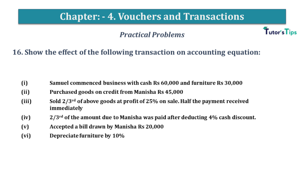 Question No 16 Chapter No 4