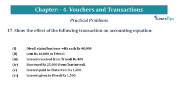 Q 17 CH 4 USHA 1 Book 2020 Solution min 1 360x203 - Chapter No. 3 - Vouchers and transactions - USHA Publication Class +1