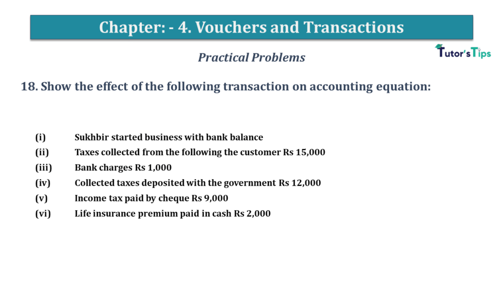 Question No 18 Chapter No 4