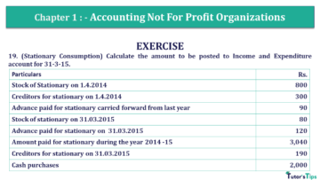 Q 19 CH 1 Usha 2 Book 2018 Solution min 360x203 - Chapter No. 1 - Accounting Not for Profit Organisations - USHA Publication Class +2 - Solution
