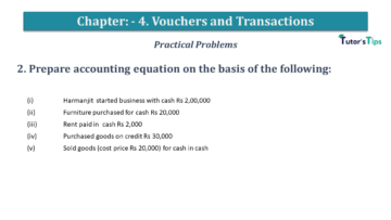 Q 2 CH 4 USHA 1 Book 2020 Solution min 360x203 - Chapter No. 3 - Vouchers and transactions - USHA Publication Class +1
