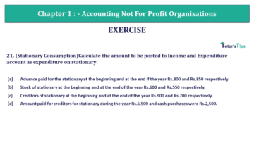 Q 21 CH 1 Usha 2 Book 2018 Solution min 360x203 - Chapter No. 1 - Accounting Not for Profit Organisations - USHA Publication Class +2 - Solution