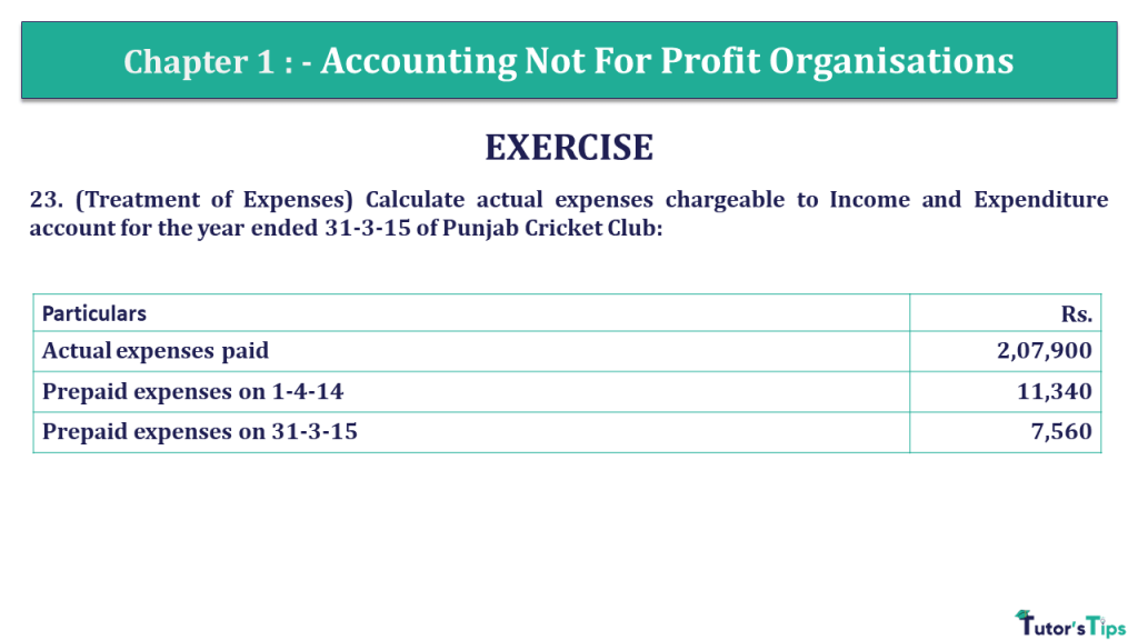 Question 23 Chapter 1 of +2- Part-