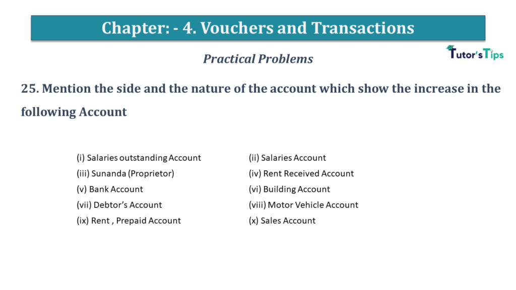 Question No 25 Chapter No 4