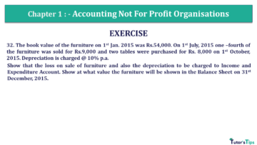 Q 32 CH 1 Usha 2 Book 2018 Solution min 360x203 - Chapter No. 1 - Accounting Not for Profit Organisations - USHA Publication Class +2 - Solution