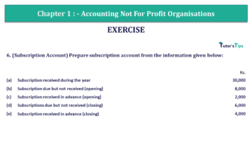 Q 6 CH 1 Usha 2 Book 2018 Solution min 1 360x203 - Chapter No. 1 - Accounting Not for Profit Organisations - USHA Publication Class +2 - Solution