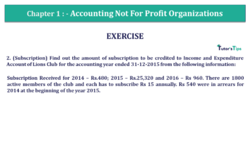 Q 7 CH 1 Usha 2 Book 2018 Solution min 360x203 - Chapter No. 1 - Accounting Not for Profit Organisations - USHA Publication Class +2 - Solution