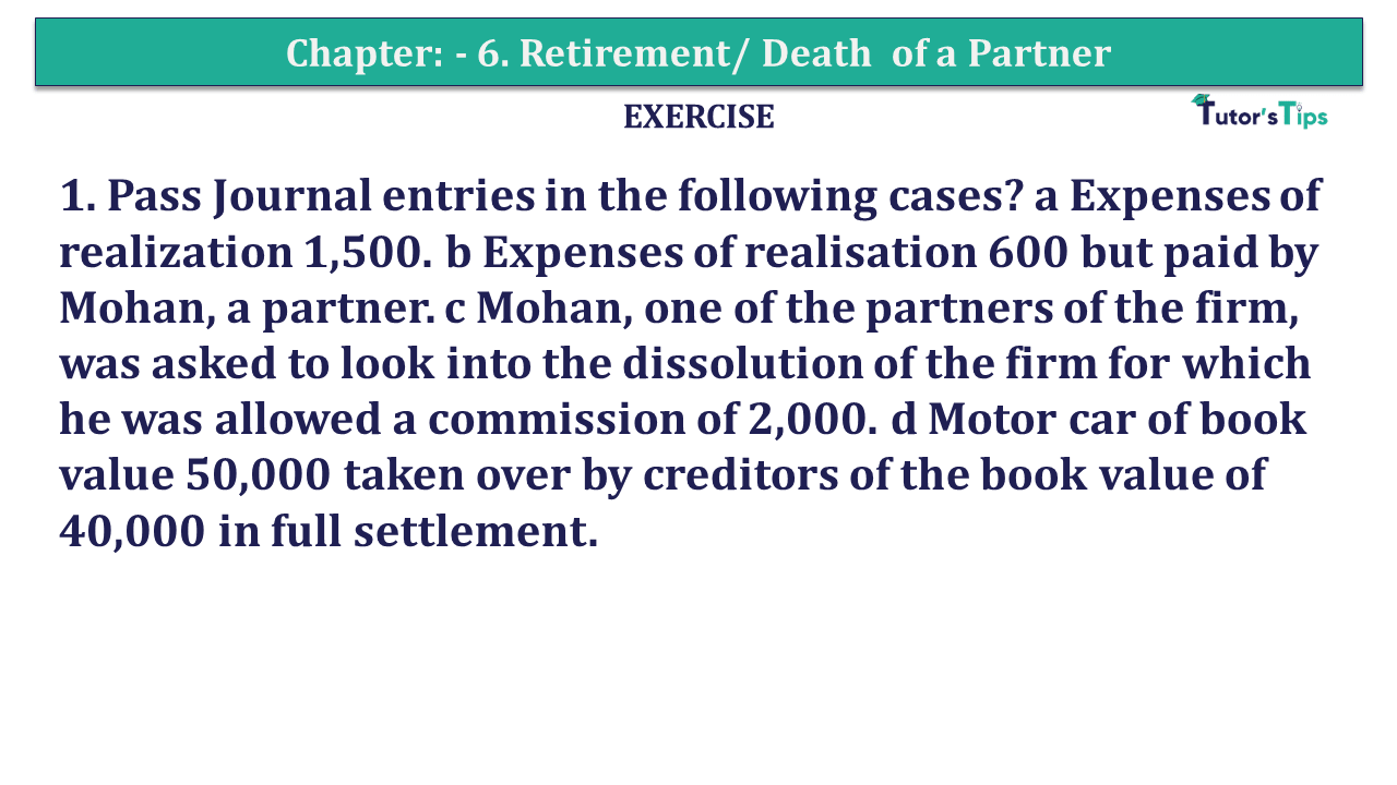Question 01 Chapter 7of +2-A