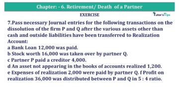 Question No.07 Chapter No.7 T.S. Grewal 2 Book 2019 Solution min min 360x203 - Chapter No. 7 - Dissolution of a Partnership Firm - Solution - Class 12