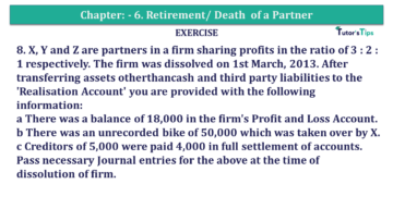 Question No.08 Chapter No.7 T.S. Grewal 2 Book 2019 Solution min min 360x203 - Chapter No. 7 - Dissolution of a Partnership Firm - Solution - Class 12