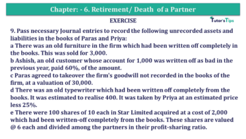 Question No.09 Chapter No.7 T.S. Grewal 2 Book 2019 Solution min min 360x203 - Chapter No. 7 - Dissolution of a Partnership Firm - Solution - Class 12