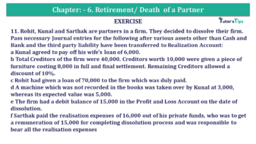 Question No.11 Chapter No.7 T.S. Grewal 2 Book 2019 Solution min min 360x203 - Chapter No. 7 - Dissolution of a Partnership Firm - Solution - Class 12