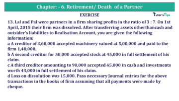 Question No.13 Chapter No.7 T.S. Grewal 2 Book 2019 Solution min min 360x203 - Chapter No. 7 - Dissolution of a Partnership Firm - Solution - Class 12
