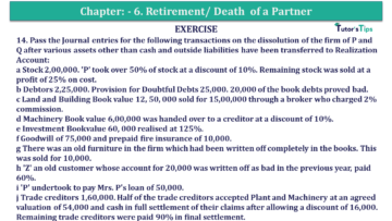Question No.14 Chapter No.7 T.S. Grewal 2 Book 2019 Solution min min 360x203 - Chapter No. 7 - Dissolution of a Partnership Firm - Solution - Class 12