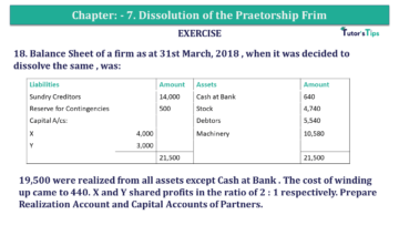 Question No.18 Chapter No.7 T.S. Grewal 2 Book 2019 Solution min min 360x203 - Chapter No. 7 - Dissolution of a Partnership Firm - Solution - Class 12