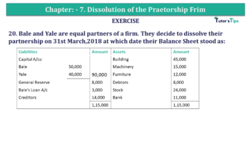 Question No.20 Chapter No.7 T.S. Grewal 2 Book 2019 Solution min min 360x203 - Chapter No. 7 - Dissolution of a Partnership Firm - Solution - Class 12