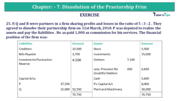 Question No.25 Chapter No.7 T.S. Grewal 2 Book 2019 Solution min min 360x203 - Chapter No. 7 - Dissolution of a Partnership Firm - Solution - Class 12