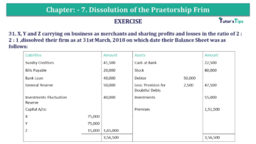 Question No.31 Chapter No.7 T.S. Grewal 2 Book 2019 Solution min min 360x203 - Chapter No. 7 - Dissolution of a Partnership Firm - Solution - Class 12