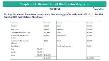 Question No.34 Chapter No.7 T.S. Grewal 2 Book 2019 Solution min min 360x203 - Chapter No. 7 - Dissolution of a Partnership Firm - Solution - Class 12