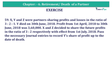 Question No.59 Chapter No.6 T.S. Grewal 2 Book 2019 Solution min min 1 360x203 - Chapter No. 6 - Retirement/Death of a Partner - Solution - Class 12