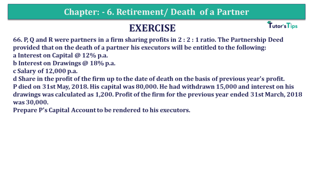 Question 66 Chapter 6of +2-A