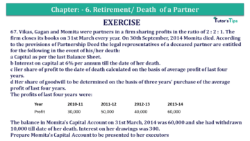 Question No.67 Chapter No.6 T.S. Grewal 2 Book 2019 Solution min min 360x203 - Chapter No. 6 - Retirement/Death of a Partner - Solution - Class 12