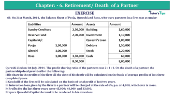 Question No.68 Chapter No.6 T.S. Grewal 2 Book 2019 Solution min min 360x203 - Chapter No. 6 - Retirement/Death of a Partner - Solution - Class 12