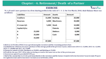 Question No.70 Chapter No.6 T.S. Grewal 2 Book 2019 Solution min min 360x203 - Chapter No. 6 - Retirement/Death of a Partner - Solution - Class 12